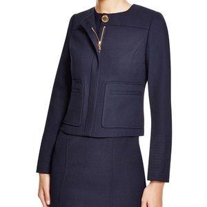 Tory Burch Navy Blue Uniform Harriet Jacket Blazer